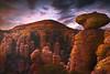 Twilight Glow Over Sugarloaf Hill - Chiricahua National Monument, Arizona