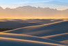 Converging Valleys Of Light And Gold - White Sands National Monument, New Mexico