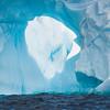 Deep Inside The Iceberg Arch Hole -  Cuverville Island, Antarctica