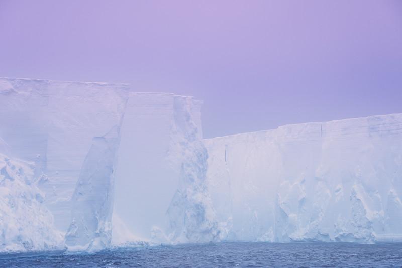 Iceberg Twilight - Iceberg Alley , Hope Bay,  Antarctica Sound,  Antarctica