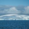 Shades Of Cloud On Iceberg -  Cuverville Island, Antarctica