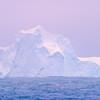 Floating Iceberg At Sea During Twilight_ - Iceberg Alley , Hope Bay,  Antarctica Sound,  Antarctica