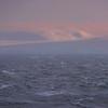 Pink Snowy Hills In The Distance - Iceberg Alley , Hope Bay,  Antarctica Sound,  Antarctica