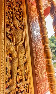 Temple Carving, Luang Prabang Laos