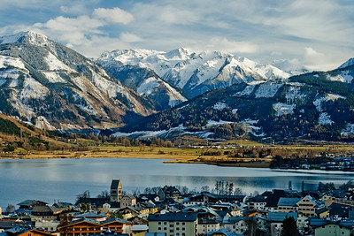View Over Zell Am See