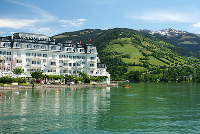 Grand Hotel , Zell Am See, Austria