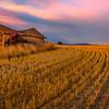 Broken Down House At Sunset _The Palouse_Eastern Washington