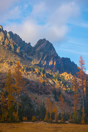 Dressed And Framed In Color - Mt Stuart, Lake Ingalls, Alpine Lakes Wilderness, WA