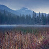A Cold Autumn Morning At Black Pine Lake - Methow Valley, Washington State