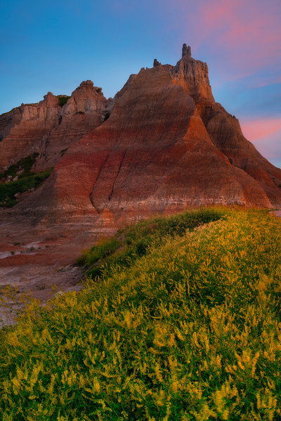 The Tower Of Power - Badlands National Park, South Dakota