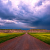Dark Skies Paint The Landscape - Badlands National Park, South Dakota