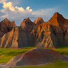 Within The Gates Of Sunset - Badlands National Park, South Dakota