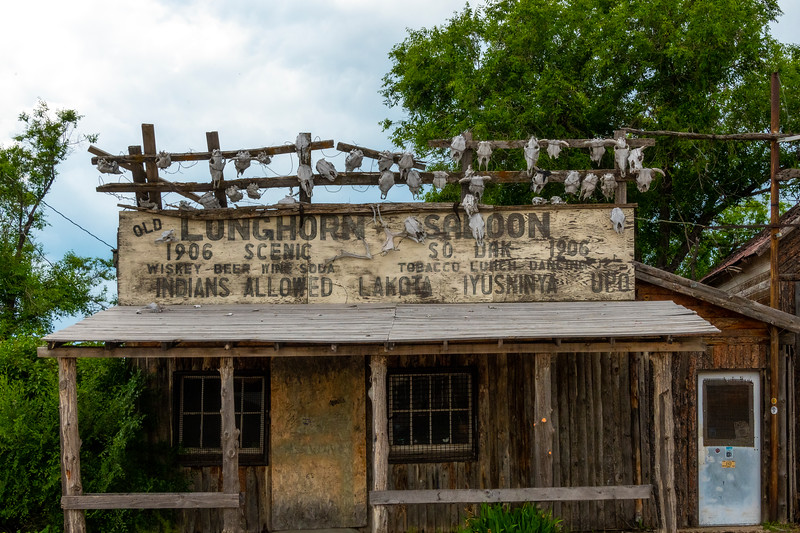 Welcome For Lunch And Drinks - Badlands National Park, South Dakota
