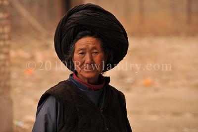 Mosuo minority 摩梭人 Yongning Town 永宁乡Around Lugu Lake Yunnan China 2010 DSC_9225