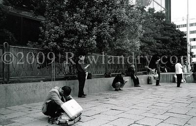 Photo #1 «Vérifier ses effets de voyage…» 2006