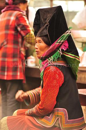 Yi Minority Around Lugu Lake Yunnan China 2010 DSC_0249