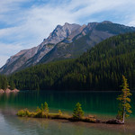 Banff National Park is host to many stunning campgrounds