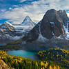 Mt Assiniboine In Early Morning Light