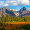 Jasper National Park In Autumn