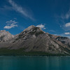 Lake Minnewanka is one of the top campgrounds to stay at in Banff National Park