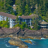 The Famouse Wickaninnish Inn From The Air Clayoquot Sound ,Tofino, and Ucluelet By Air,  Vancouver Island, BC, Canada