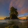 Botany Bay Under The Stars - Botany Bay, Botanical Beach, Vancouver Island, BC, Canada