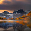 Across Early Morning Mist_Cropped - Mount Assiniboine Provincial Park, BC, Canada
