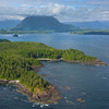 The Outcrop Of Islands Clayoquot Sound ,Tofino, and Ucluelet By Air,  Vancouver Island, BC, Canada