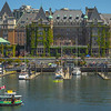 The Empress Hotel Harbour - Victoria Harbor, BC, Canada