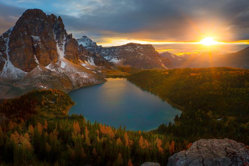 The Far Side Of Mt Assiniboine - Mount Assiniboine Provincial Park, BC, Canada
