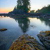 The Standing Tree Island - Botany Bay, Juan De Fuca Trail,  Vancouver Island, BC, Canada