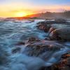 Crashing Waves Along Vancouver Island - Botany Bay, Juan De Fuca Trail,  Vancouver Island, BC, Canada