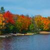 A Little Hidden Lake In Algonquin Park - Algonquin Provincial Park, Nipissing, South Part, Ontario, Canada