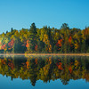 Oxtongue Lake Morning Reflections - Algonquin Provincial Park, Nipissing, South Part, Ontario, Canada