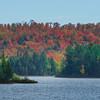 Pano_Algonquin Highlands In Full Color - Algonquin Provincial Park, Nipissing, South Part, Ontario, Canada