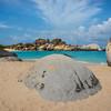 Walking Into The Baths - The Baths, Virgin Gorda, British Virgin Islands, Caribbean