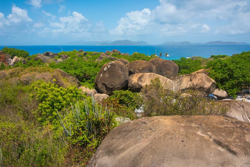 The Landscape Of Virgin Gorda - The Baths, Virgin Gorda, British Virgin Islands, Caribbean