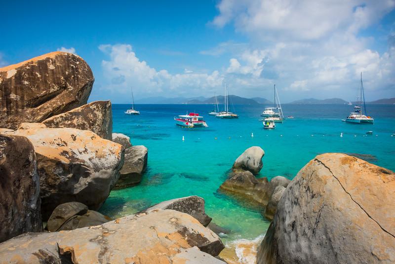 The Baths Bay - The Baths, Virgin Gorda, British Virgin Islands, Caribbean