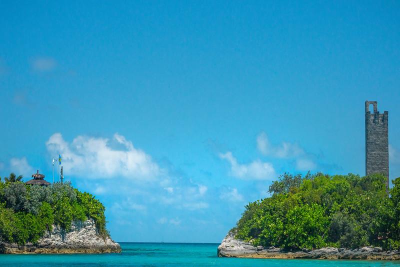 The Passage Way Into Salt Kay - Salt Kay, Bahamas, Caribbean