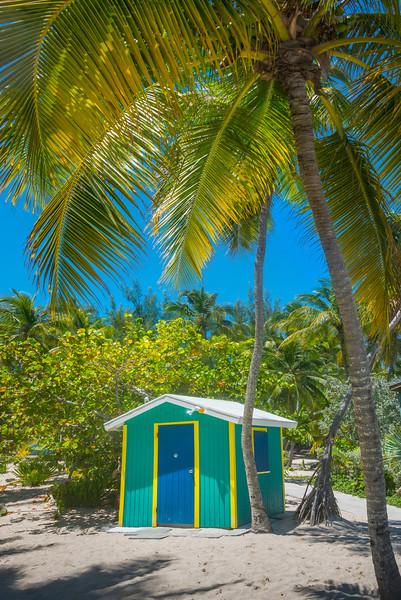 The Little Green Hut - Salt Kay, Bahamas, Caribbean