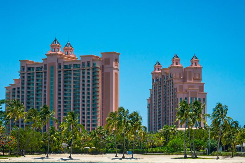 The Atlantis Resort Beach - Nassau, Bahamas, Caribbean