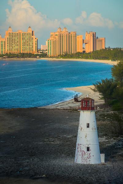 The Nassau Lighthouse Protecting Atlantis