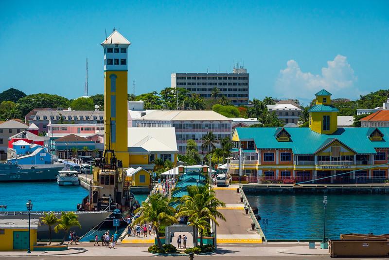 Nassau Market Pier - Nassau, Bahamas, Caribbean