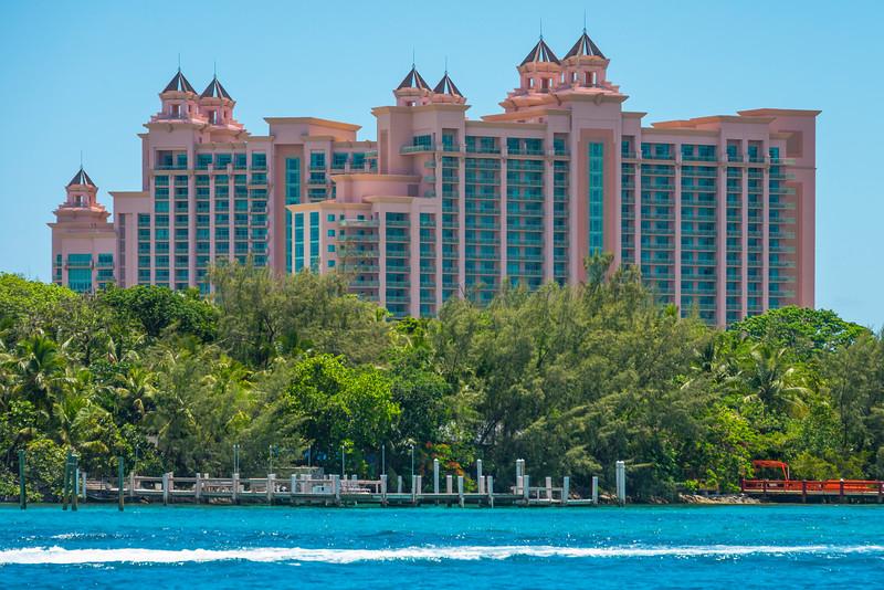 Atlantis Resort Alongside Inlet - Nassau, Bahamas, Caribbean