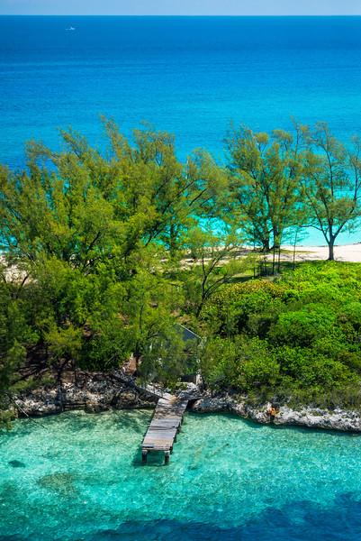 A Secluded Pier In The Bahamas - Nassau, Bahamas, Caribbean