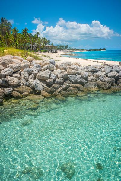 One Of Lost Beaches In The Bahamas - Salt Kay, Bahamas, Caribbean
