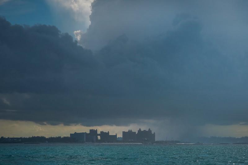 Rain Clouds Above The Atlantis
