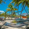 Hammock Tropical Relaxation - Salt Kay, Bahamas, Caribbean