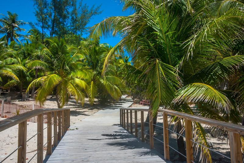 A Walkway Into Paradise - Salt Kay, Bahamas, Caribbean