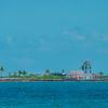 A Secluded Lighthouse Outside In The Bahamas - Sun Kay, Bahamas, Caribbean